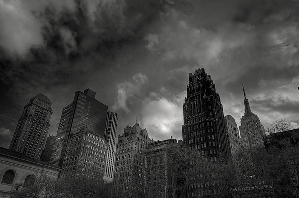 Skyscrapers Print by Mike Horvath