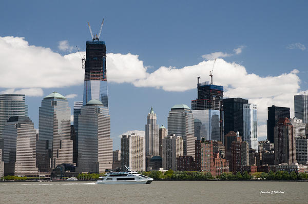 Jonathan E Whichard - SKYWARD PROGRESS Freedom Tower WTC 1 New York City