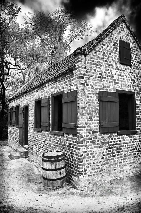 Slave House Print by John Rizzuto