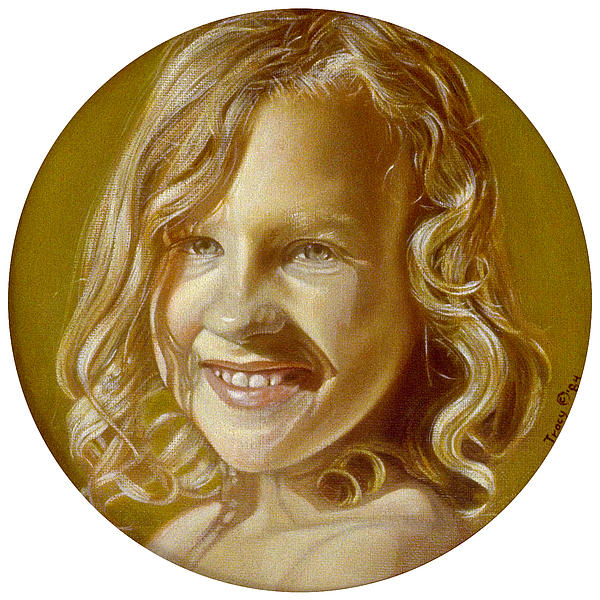 Robert Tracy - Smiling Girl