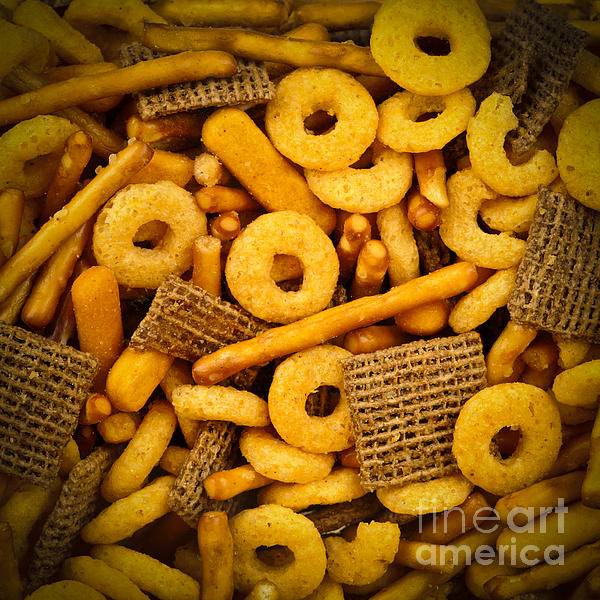 Snacks Print by Elena Elisseeva