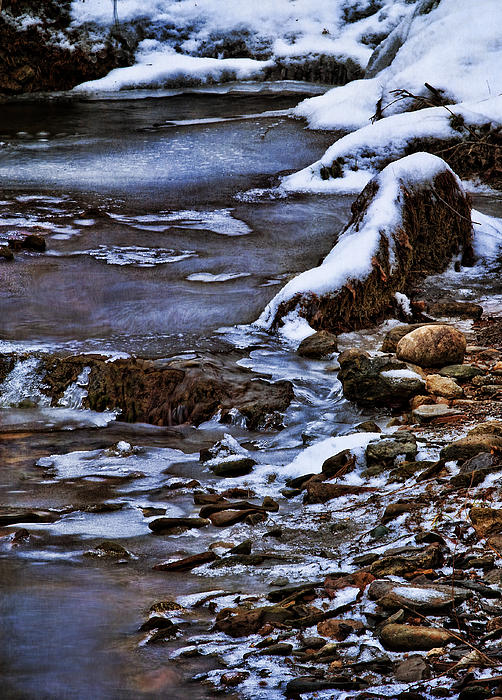 snow rocks nature ice - photo #24