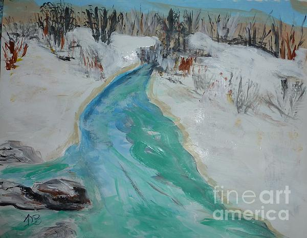 Marie Bulger - Snow and Water