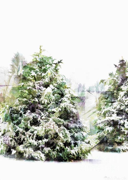 Debbie Portwood - Snow Laden - Digital effect III