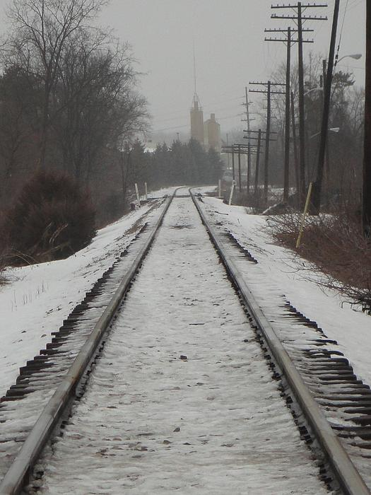 Guy Ricketts - Snowy Tracks on a Cold Winter