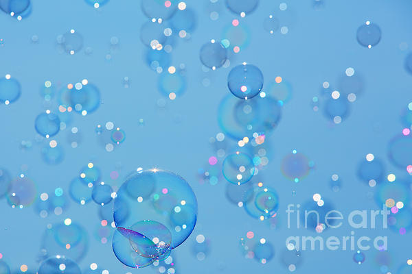 Soap Bubbles Print by Jane Rix