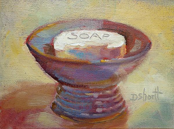 Soap Dish Print by Donna Shortt