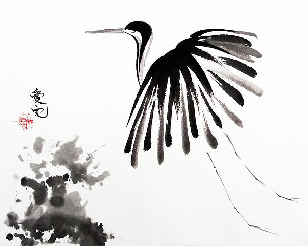Soaring High Print by Oiyee  At Oystudio