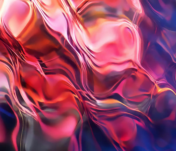 Soft Streamlines Print by Terril Heilman