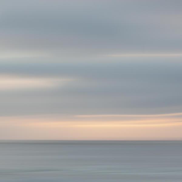 Soft Sunset La Jolla Print by Carol Leigh