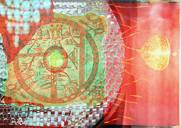 Solar Emission Print by Maria Jesus Hernandez