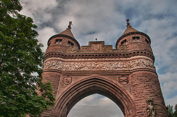 Guy Whiteley - Soldiers and Sailors Memorial Arch