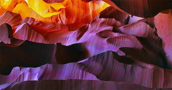 Lilia D - Somewhere in America series - Transition of the Colors in Antelope Canyon