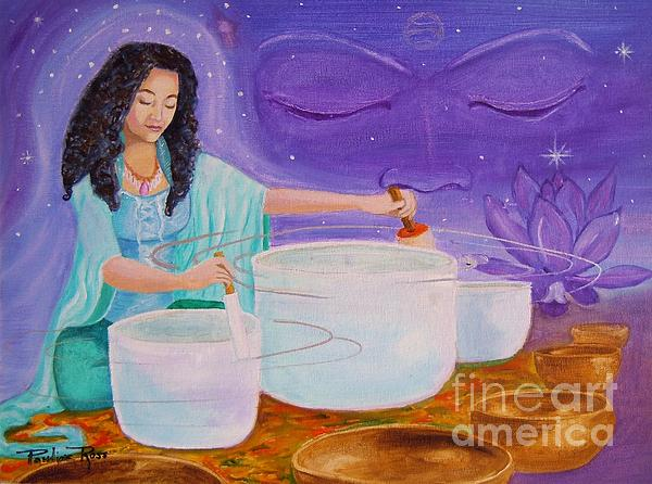 Song Of Inner Peace Print by Pauline Ross