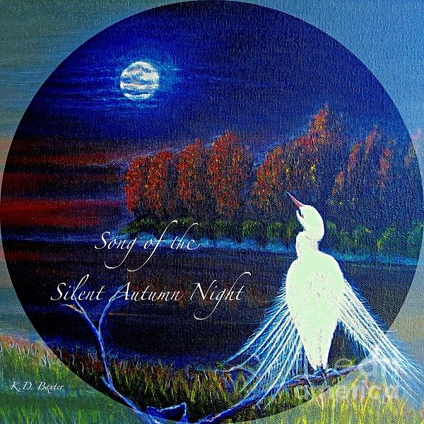 Kimberlee  Baxter - Song of the Silent  Autumn Night in the Round with Text