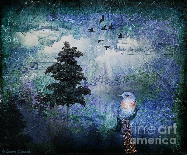 Songbird Print by Lianne Schneider