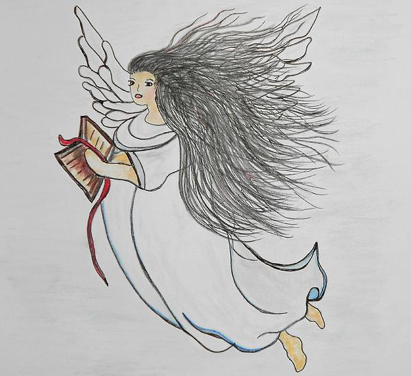 Songs Of Angels Print by Eloise Schneider