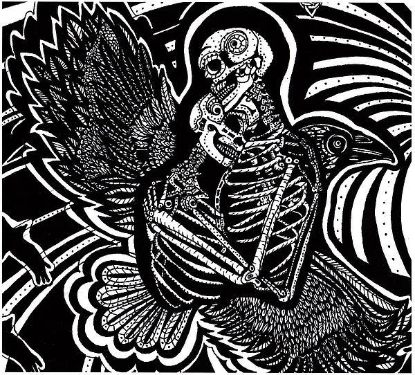 Soul Mates Print by Judy Moon