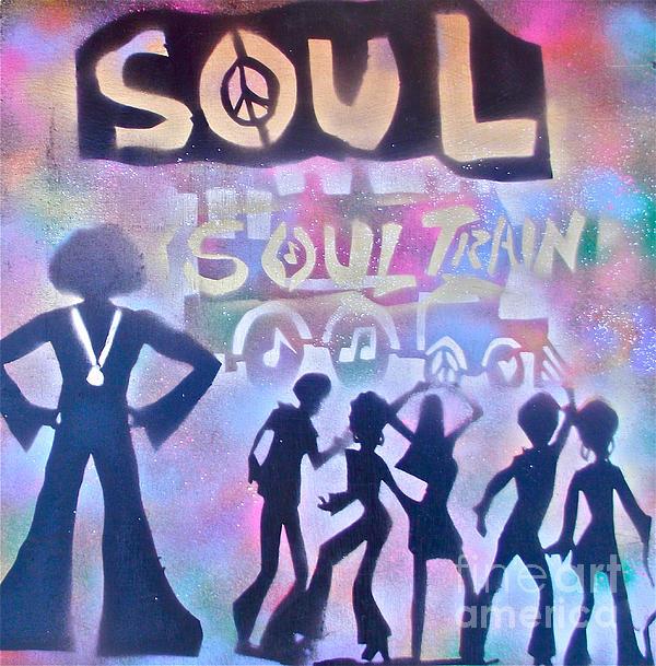 Soul Train 1 Print by Tony B Conscious