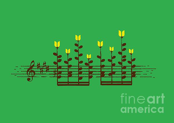 Sound Garden Print by Budi Satria Kwan