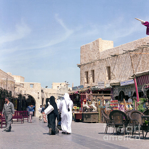 Souq Life Print by Paul Cowan