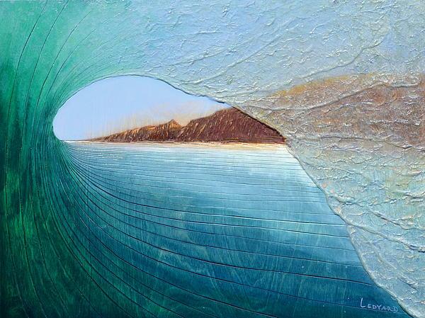 South Peak Barrel Print by Nathan Ledyard