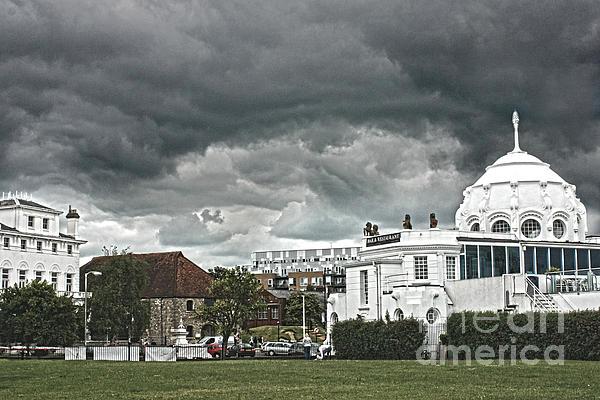 Southampton Royal Pier Hampshire Print by Terri  Waters