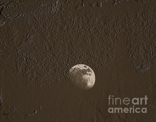Space Dirt  Print by Steven  Digman