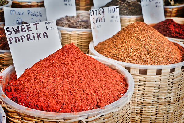 Delphimages Photo Creations - Spice market
