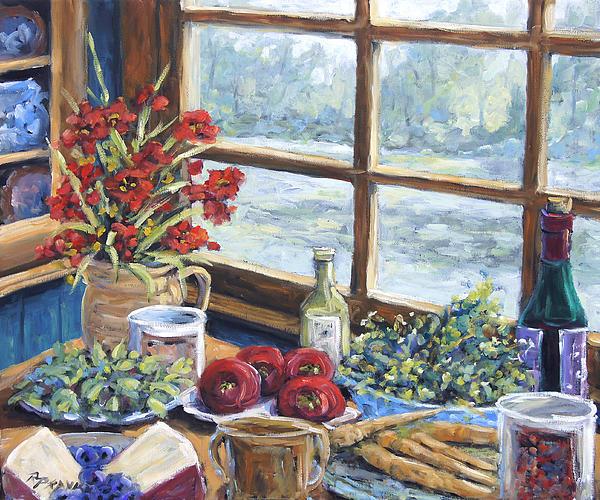 Spice Table By Prankearts Print by Richard T Pranke
