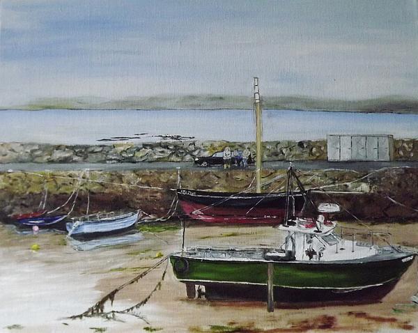 Dominic Mc Namara - Spiddal Harbour