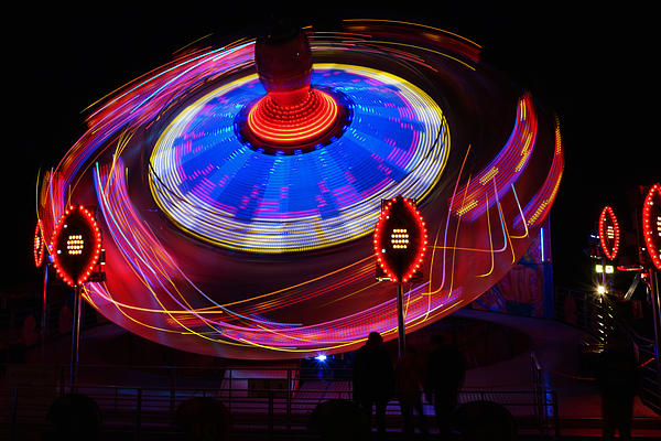 Spinning Top Print by Barry Goble