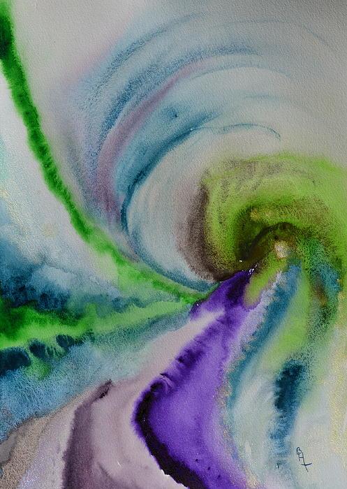 Spiral Dance Print by Beverley Harper Tinsley
