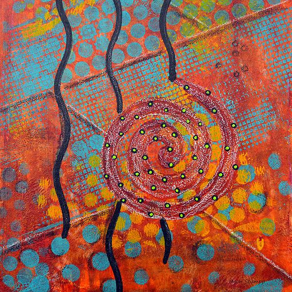 Spiral Series - Timber Print by Moon Stumpp