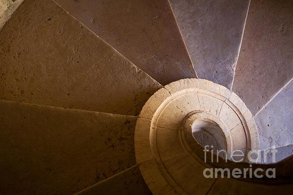 Spiral Staircase Print by Jose Elias - Sofia Pereira