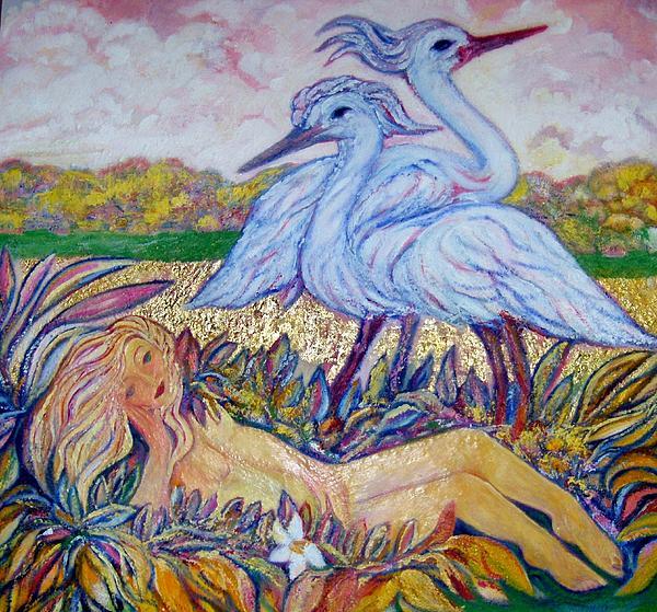 Splendor In The Grass  2 Print by Gunter  Hortz