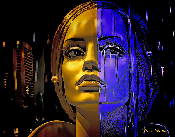 Split Personality Print by Chuck Staley