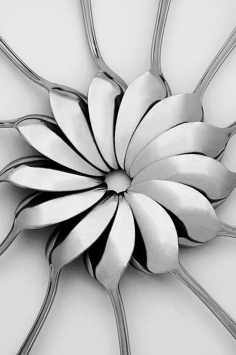 Spoons I Print by Natalie Kinnear