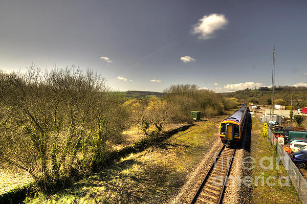 Spring At Seaton Junction  Print by Rob Hawkins