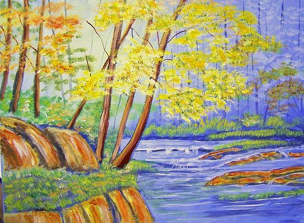 Spring Bayou Print by Belinda Lawson