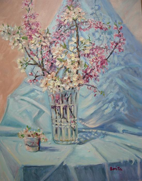 Spring Blossoms Print by Bonita Waitl