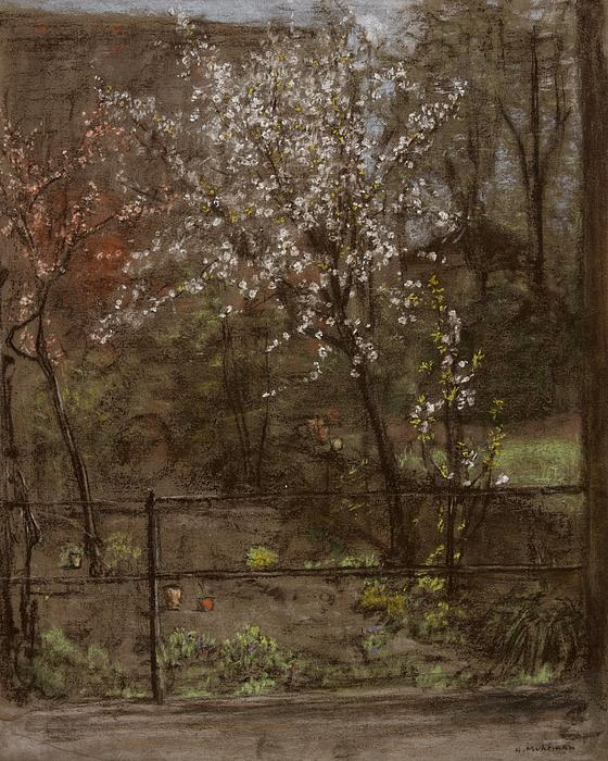 Spring Blossoms Print by Henry Muhrmann
