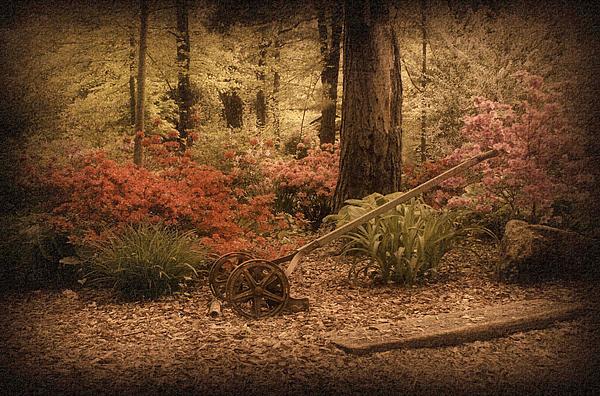 Spring Garden Print by Sandy Keeton