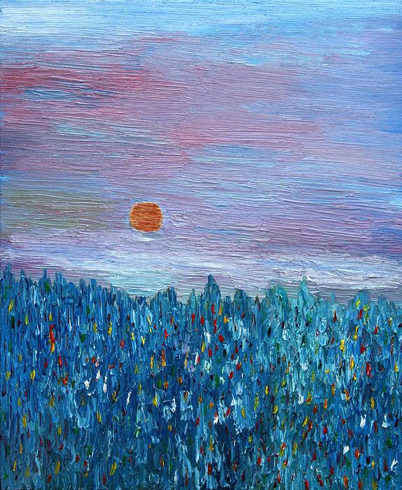 Spring Glimpse Print by Vadim Levin