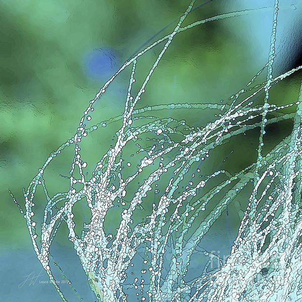 Spring Grass Print by Artist and Photographer Laura Wrede
