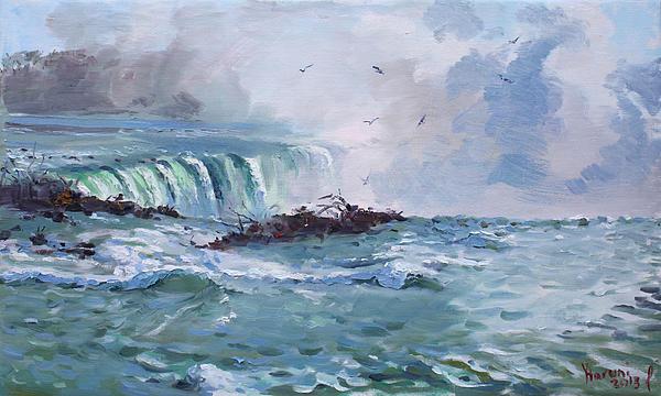 Spring In Niagara Falls Print by Ylli Haruni