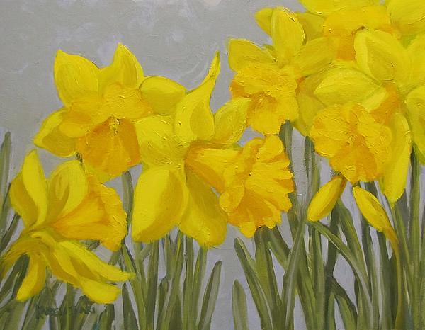 Spring Print by Karen Ilari