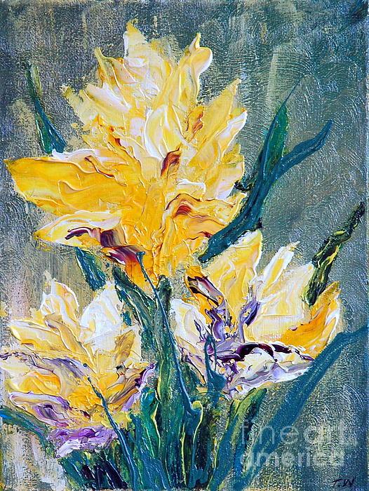 Spring Love Print by Teresa Wegrzyn