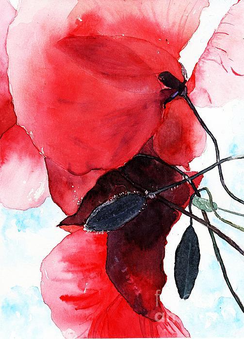 Elaine Van Staalduinen - Spring Poppies