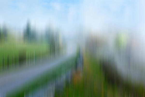 Spring Rain - A Tranquil Moments Landscape Print by Dan Carmichael